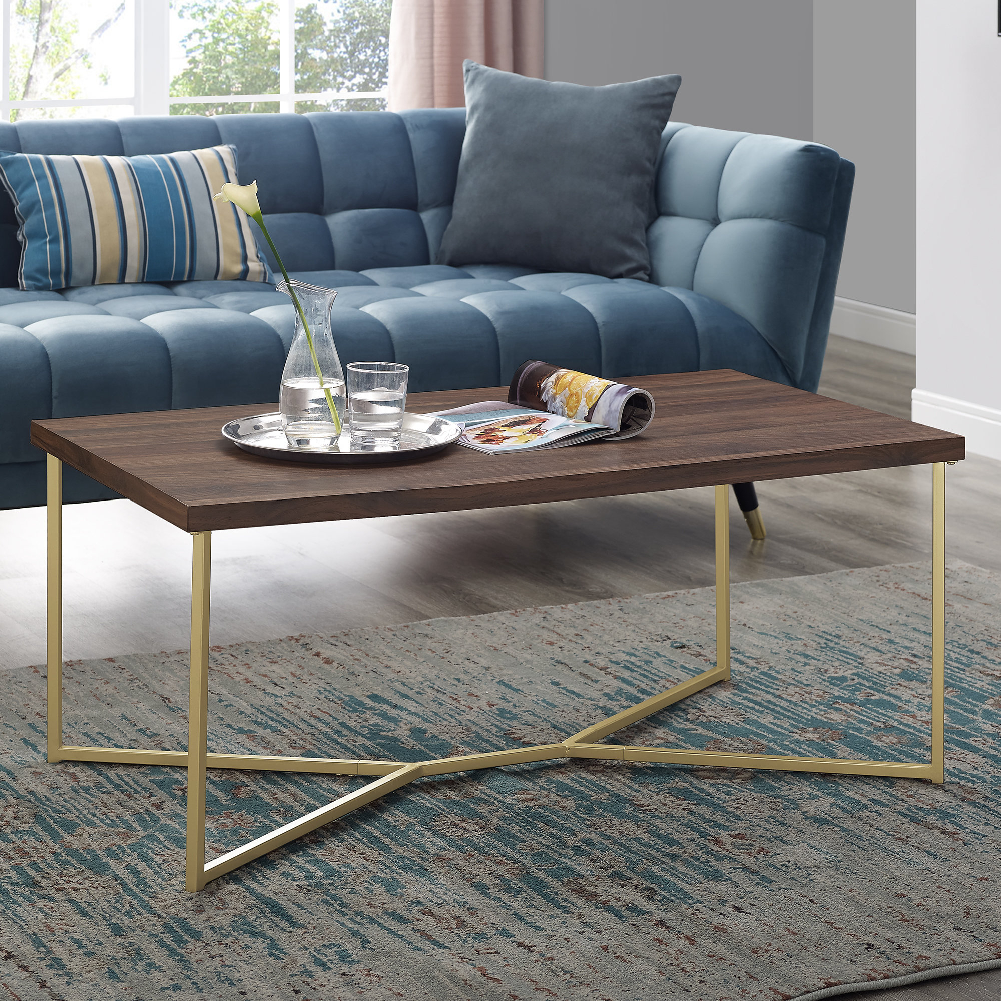 Marble/granite Top Coffee Tables You'll Love (View 15 of 20)