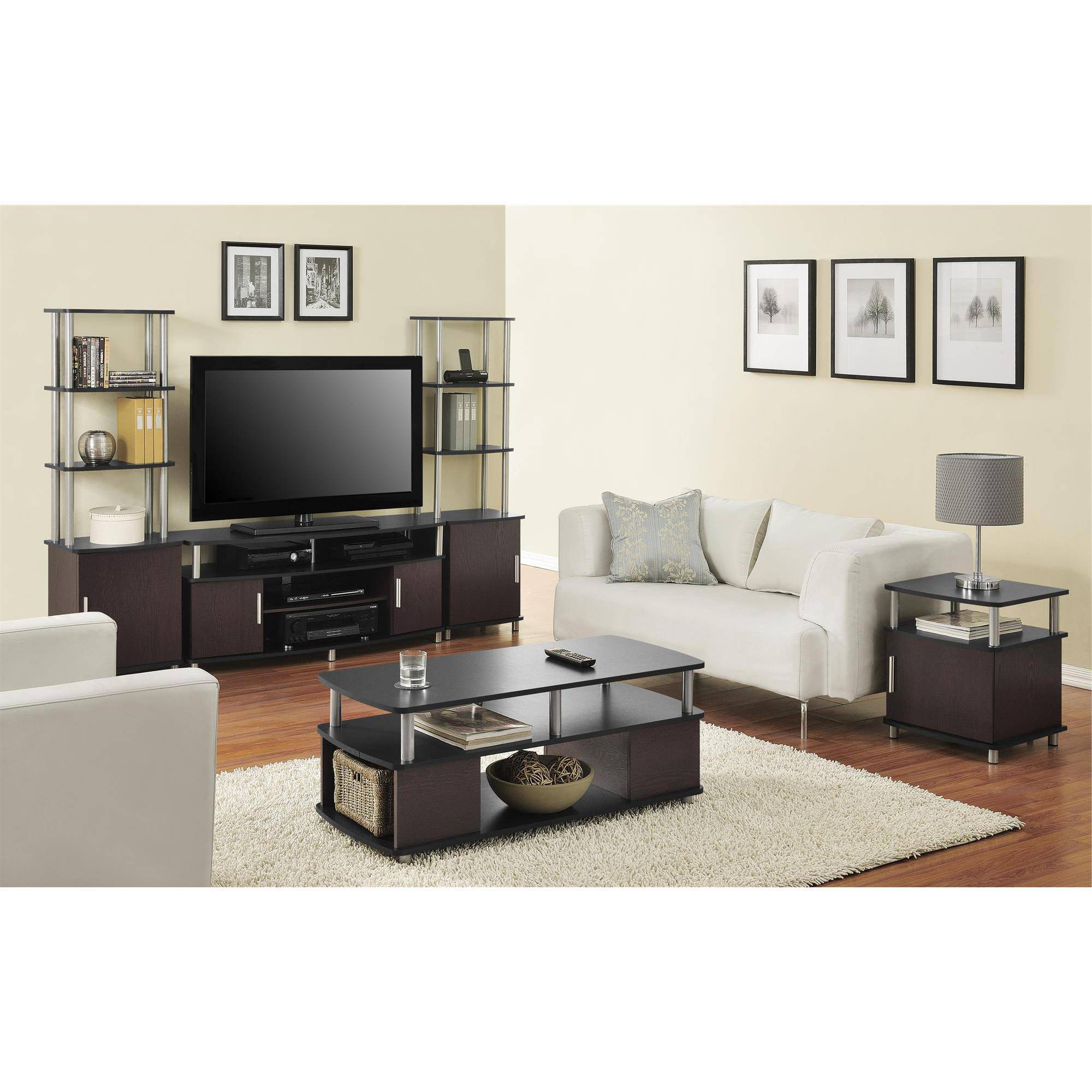 Matching Tv Stand And Computer Desk Can I Use A Coffee Table As Regarding Favorite Tv Cabinets And Coffee Table Sets (View 11 of 20)