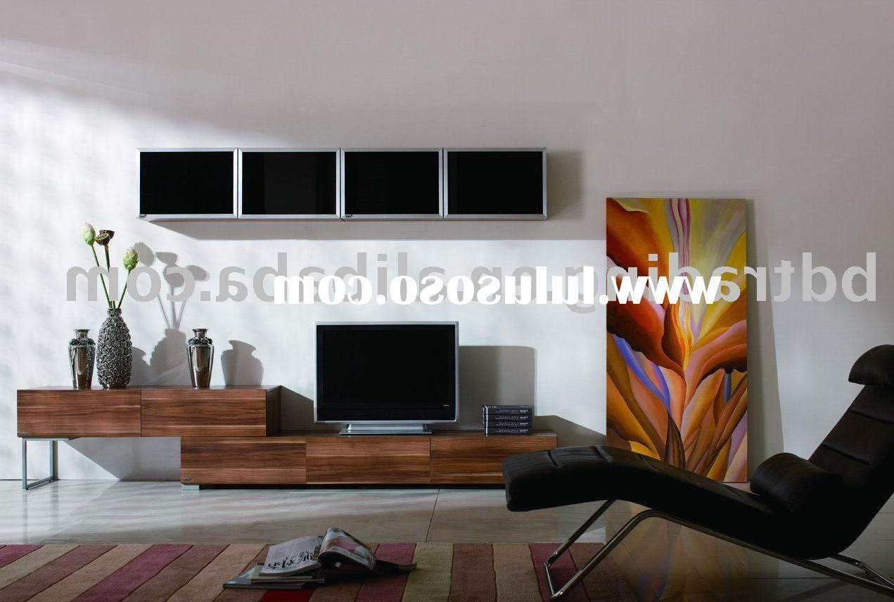 Melamine Tv Unit Living Room Furniture China With Scandinavian Design Tv Cabinets (View 7 of 20)