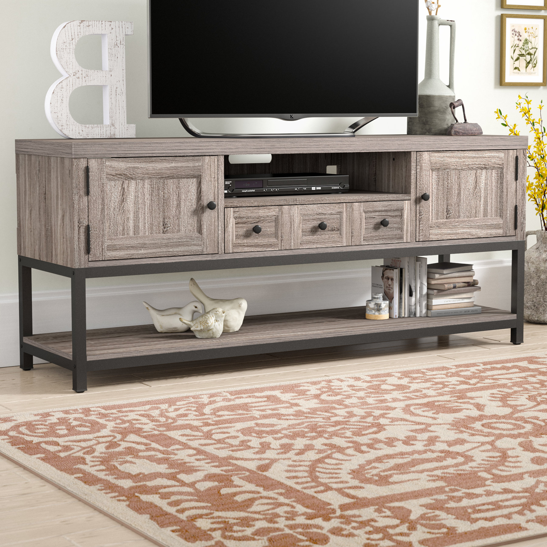 Metal Tv Stands (View 9 of 20)