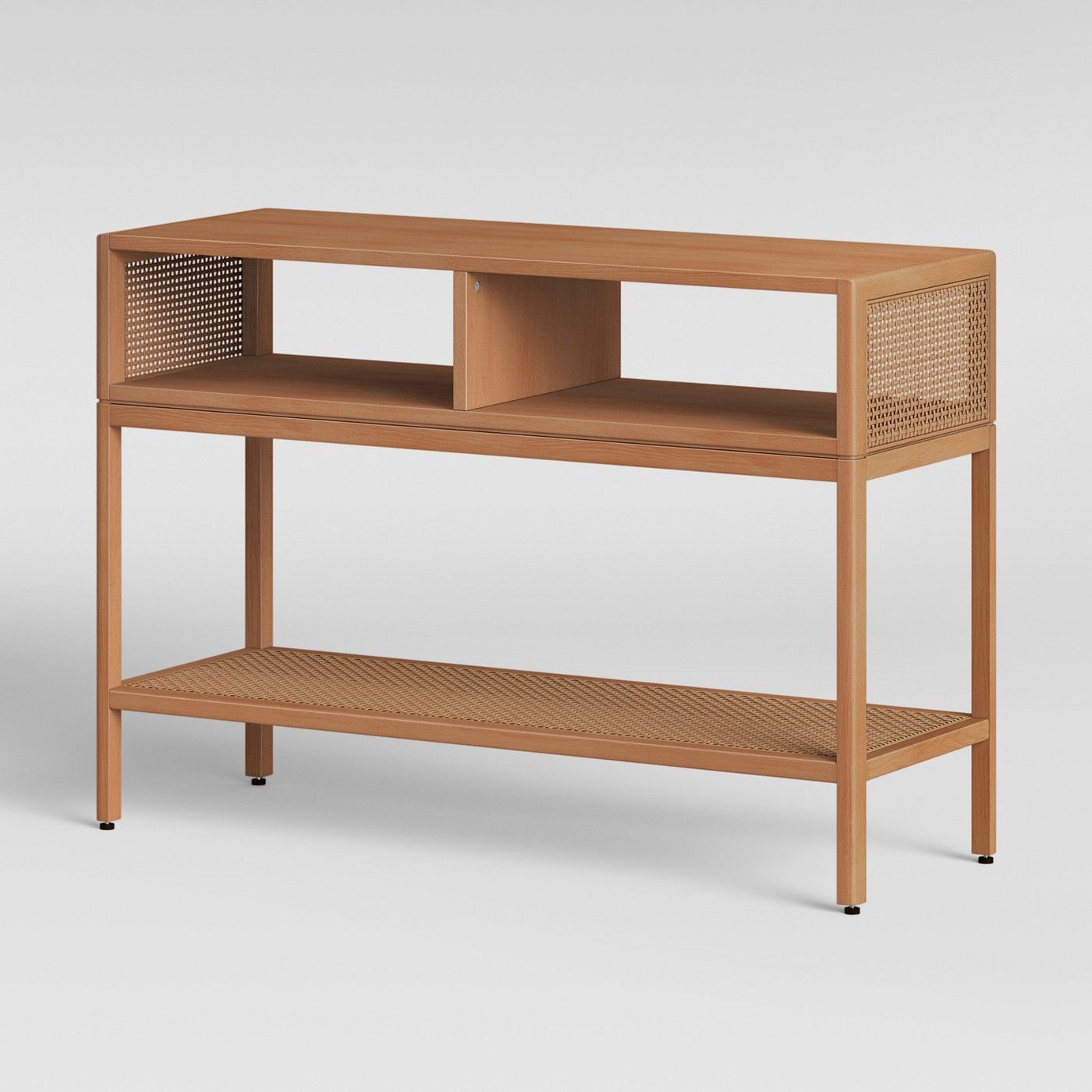 Minsmere Caned Console Table Natural Brown – Opalhouse™ – Image 3 Of Throughout Widely Used Natural Cane Media Console Tables (View 4 of 20)