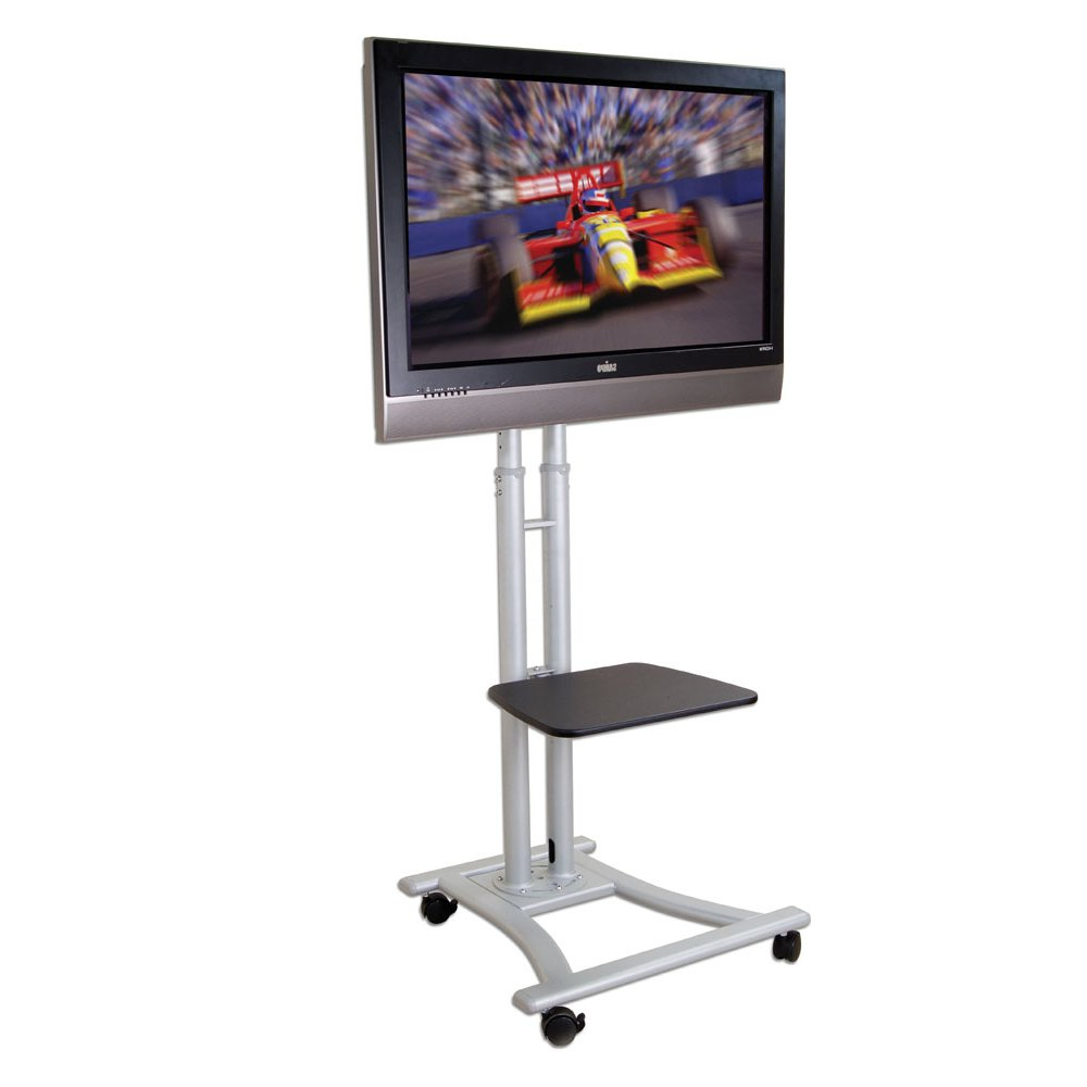Mobile Trolleys For Lcd, Led & Plasma Tv, Pc Holders & Stands From With Favorite Plasma Tv Holders (Gallery 12 of 20)