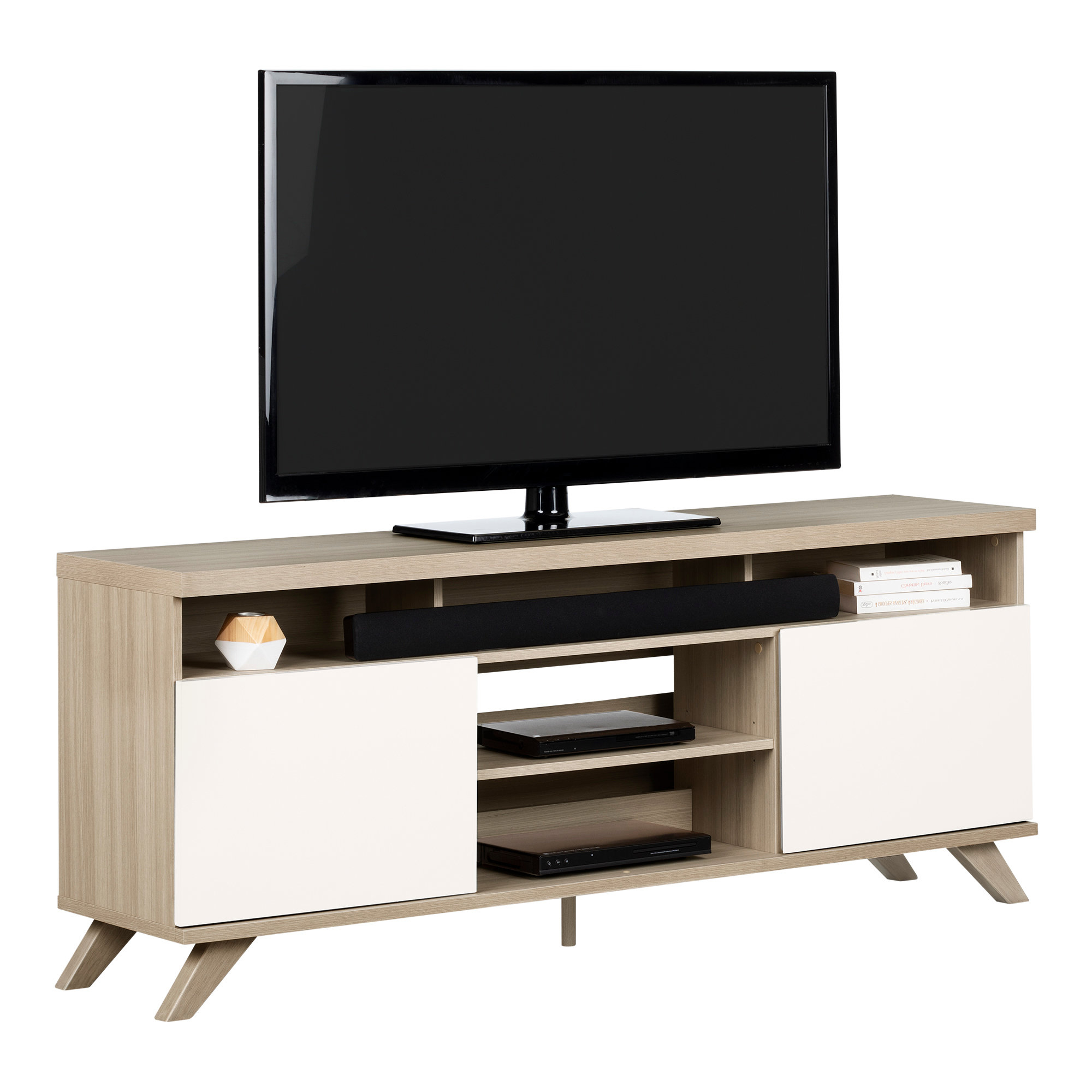 Modern 70 Inch Tv Stands + Entertainment Centers (View 4 of 20)