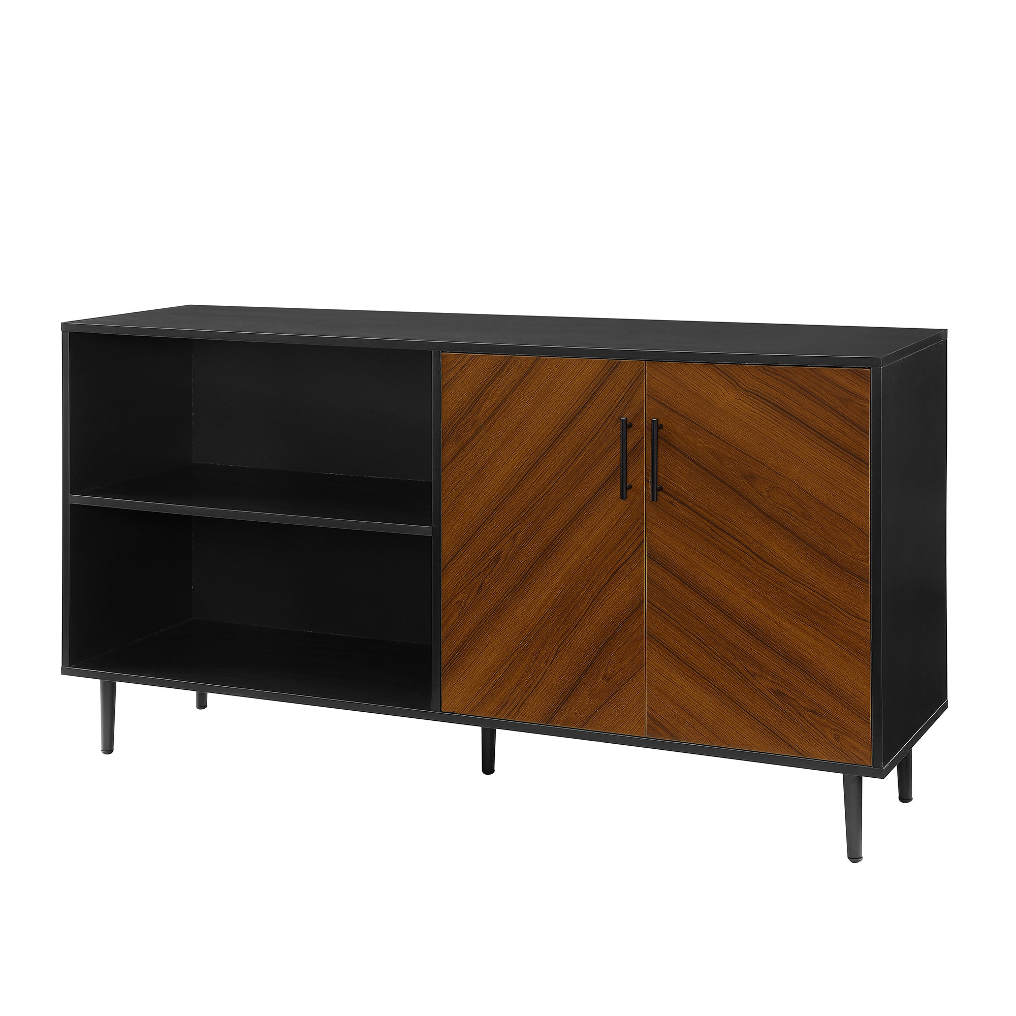 Modern Black Tv Stands (View 10 of 20)