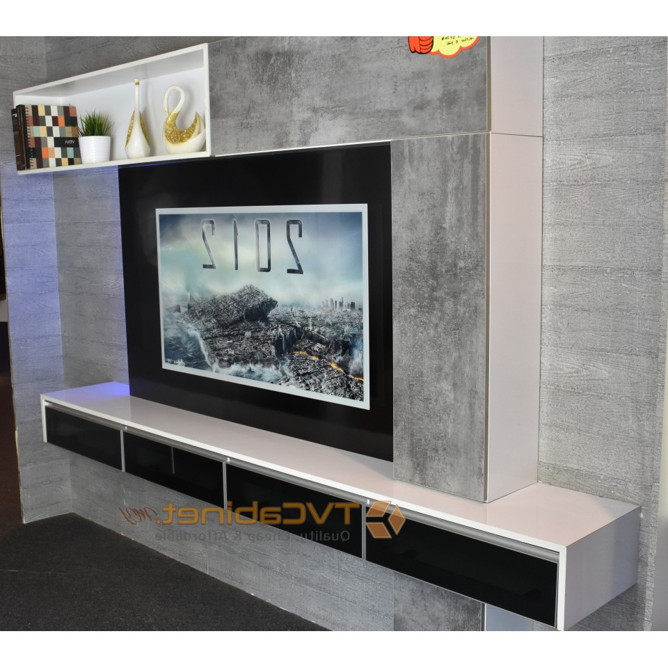 Modern Design Tv Cabinets Throughout Most Up To Date Modern & Contemporary Tv Cabinet Design Tc (View 3 of 20)