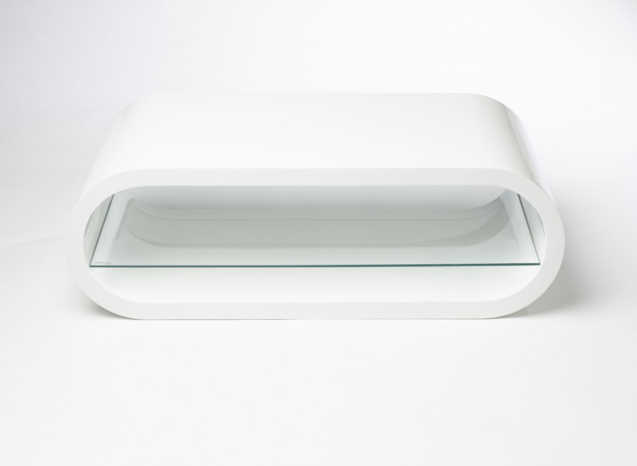 Modern Designer High Gloss Oval Tv Stand Cabinet High White Gloss Pertaining To Trendy White Gloss Oval Tv Stands (View 2 of 20)
