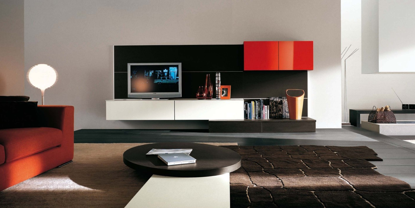 Modern Entertainment Centers Tv Stand White Lcd Cabinet Designs For Fashionable Modern Tv Entertainment Centers (View 10 of 20)