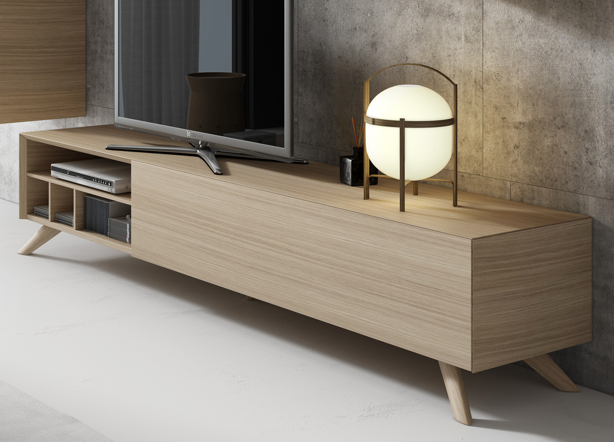 Modern Furniture In Widely Used Large Oak Tv Stands (View 13 of 20)