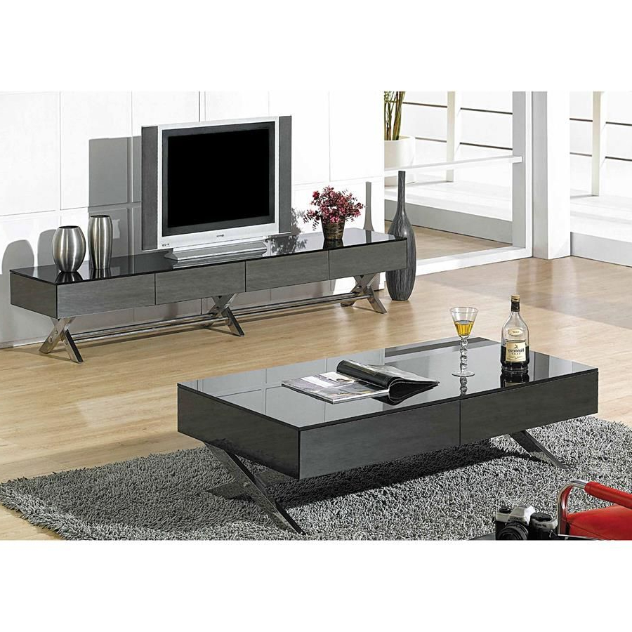 Modern Low Profile Tv Stands With 2018 Torino Tv Stand In (View 12 of 20)