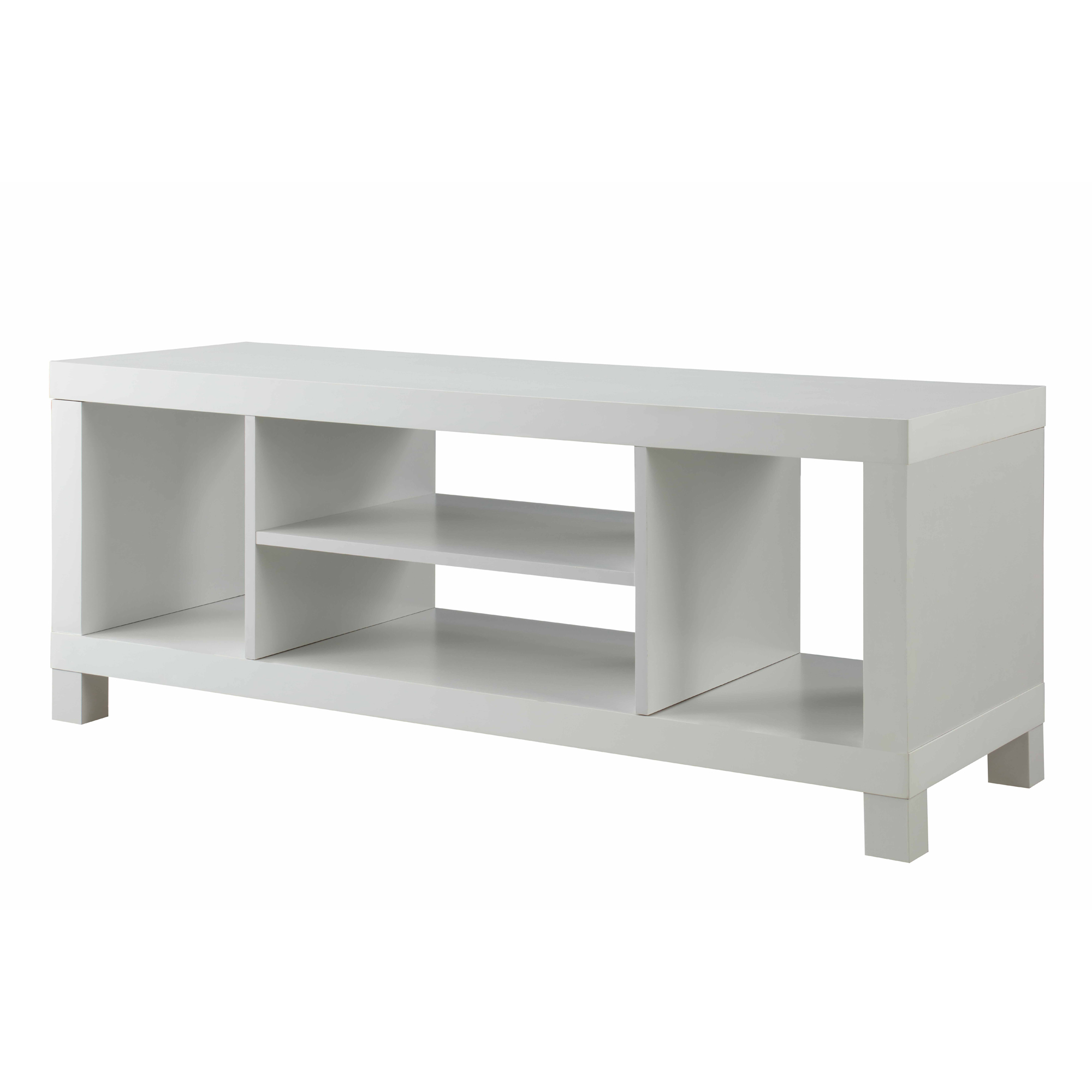 Modern Low Profile Tv Stands Within 2017 Smart Tv Stand White Modern 48 Inch Entertainment Low Profile Center (View 9 of 20)