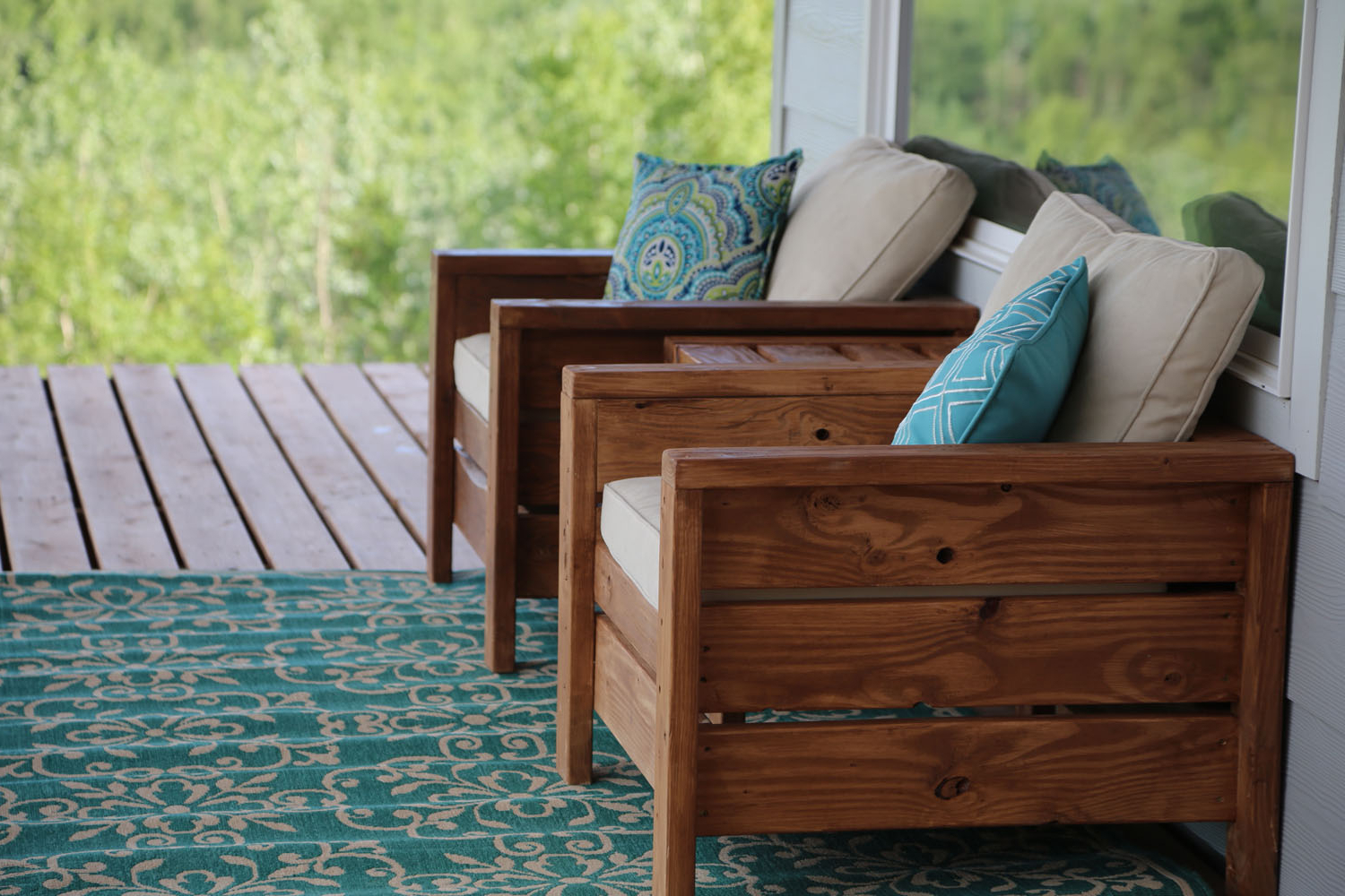 Modern Outdoor Chair From 2x4s And 2x6s – Diy Projects (View 6 of 20)