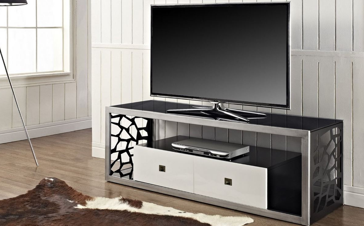 Modern Television Stand 60″ T.v (View 3 of 20)