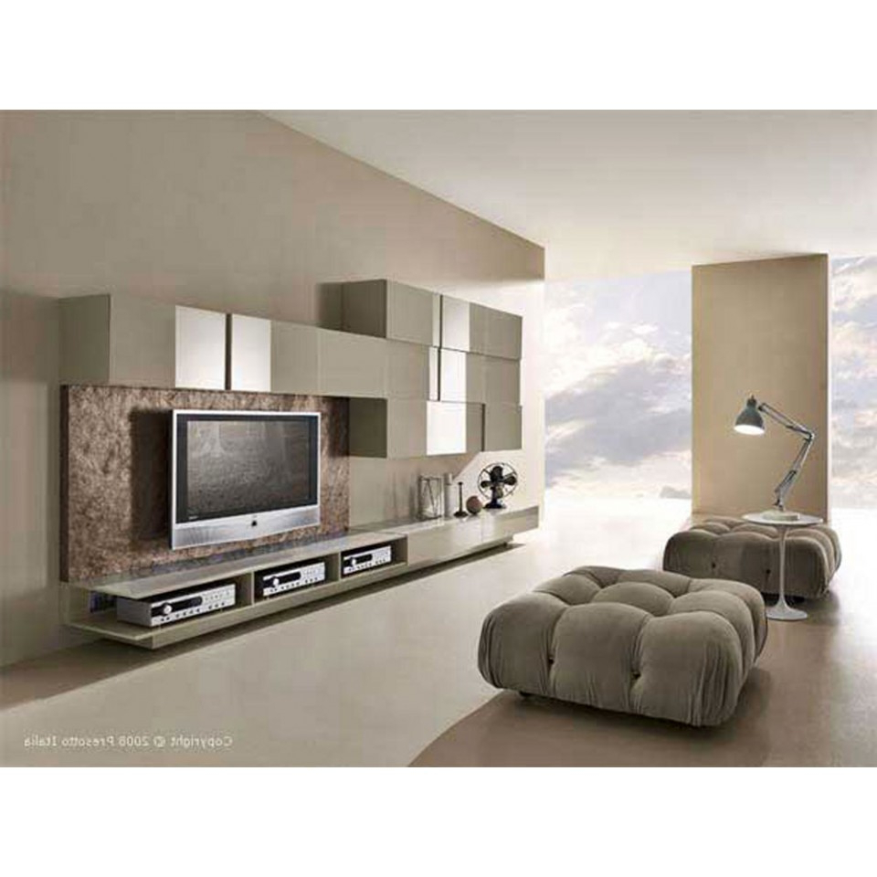 Modern Tv Stands For Elegant Living Room With Regard To Widely Used Modern Tv Cabinets Designs (View 10 of 20)