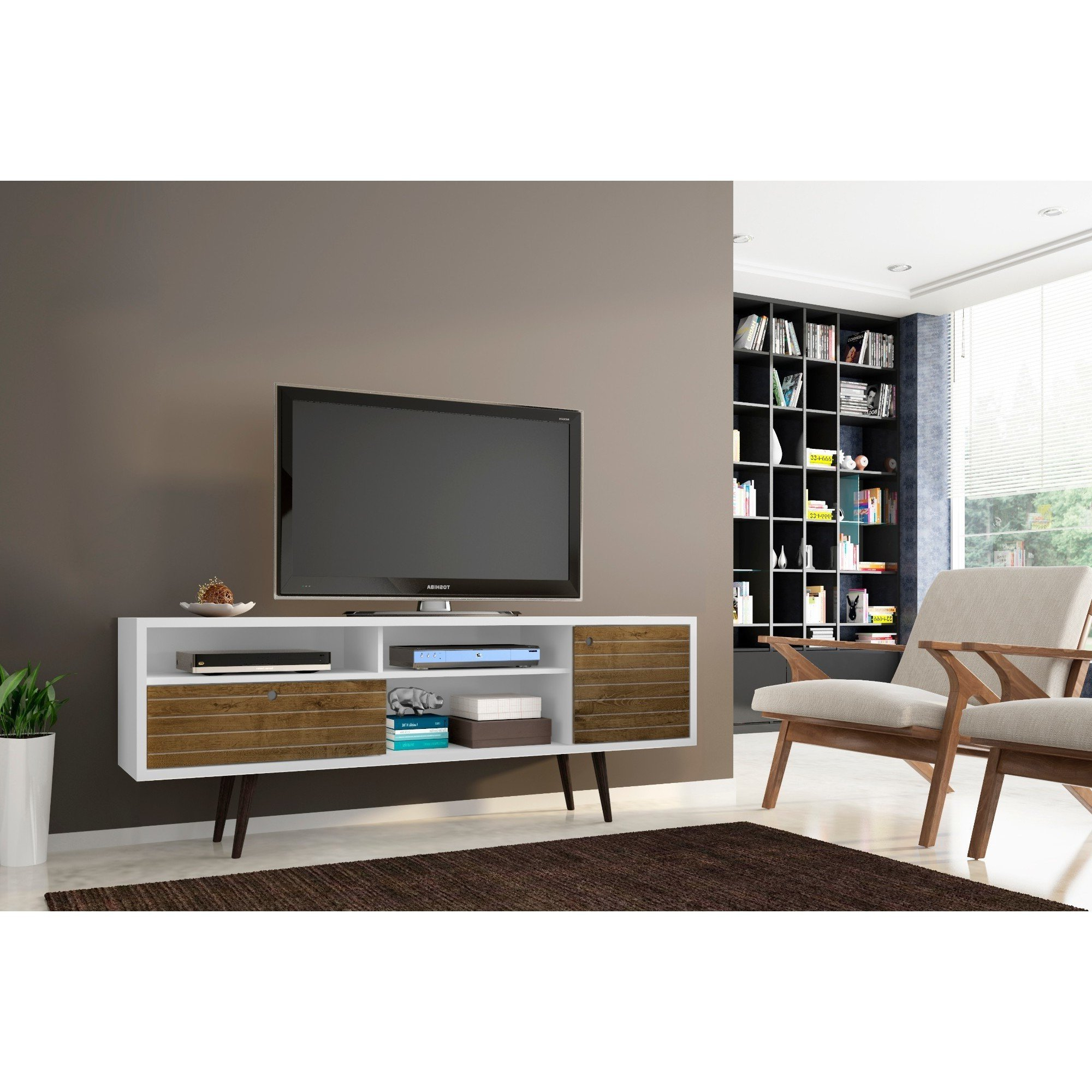 Modern Tv Stands Inside Widely Used Shop Manhattan Comfort Liberty (View 17 of 20)
