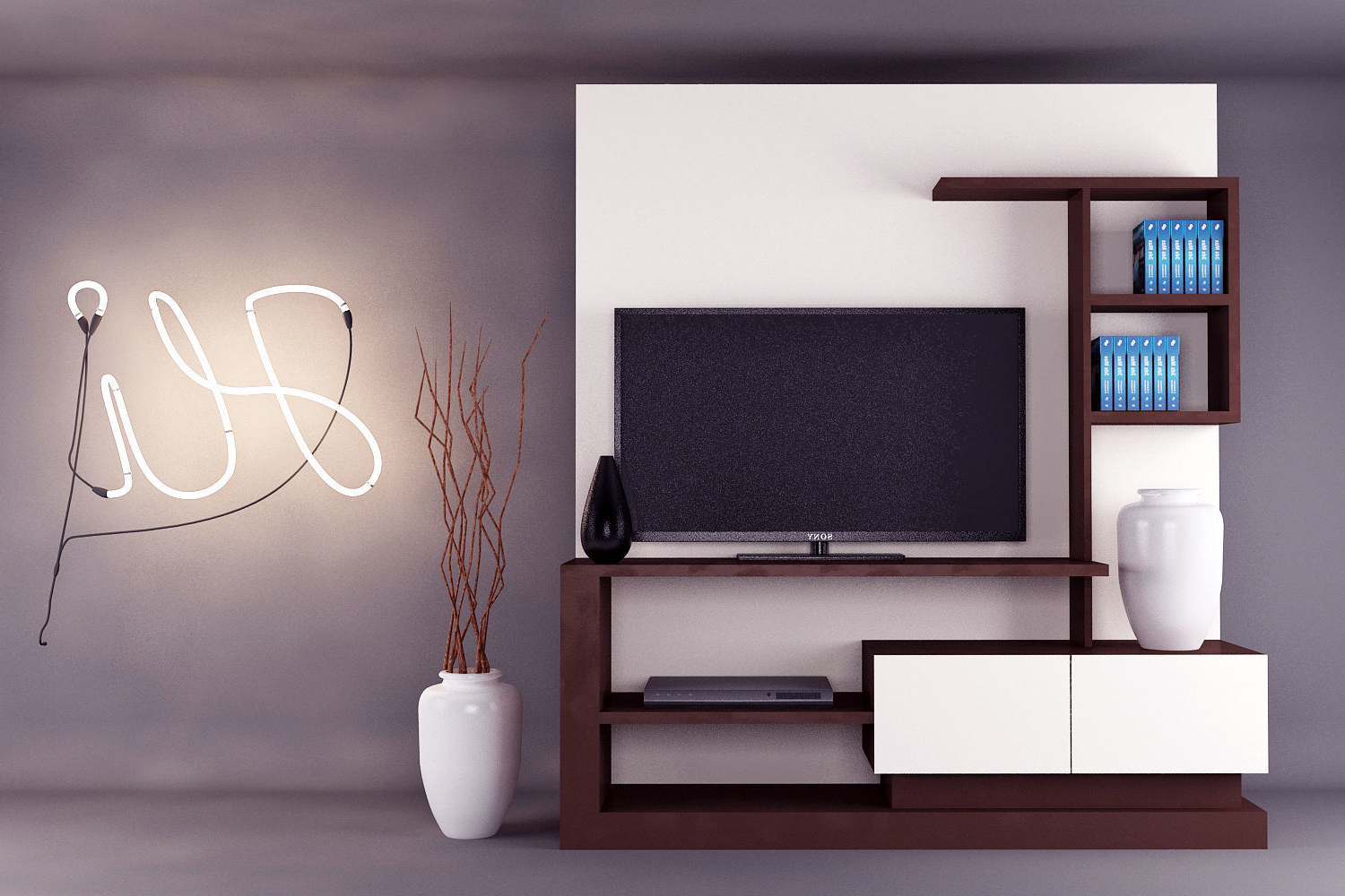 Modern Tv Unit Design (View 2 of 20)