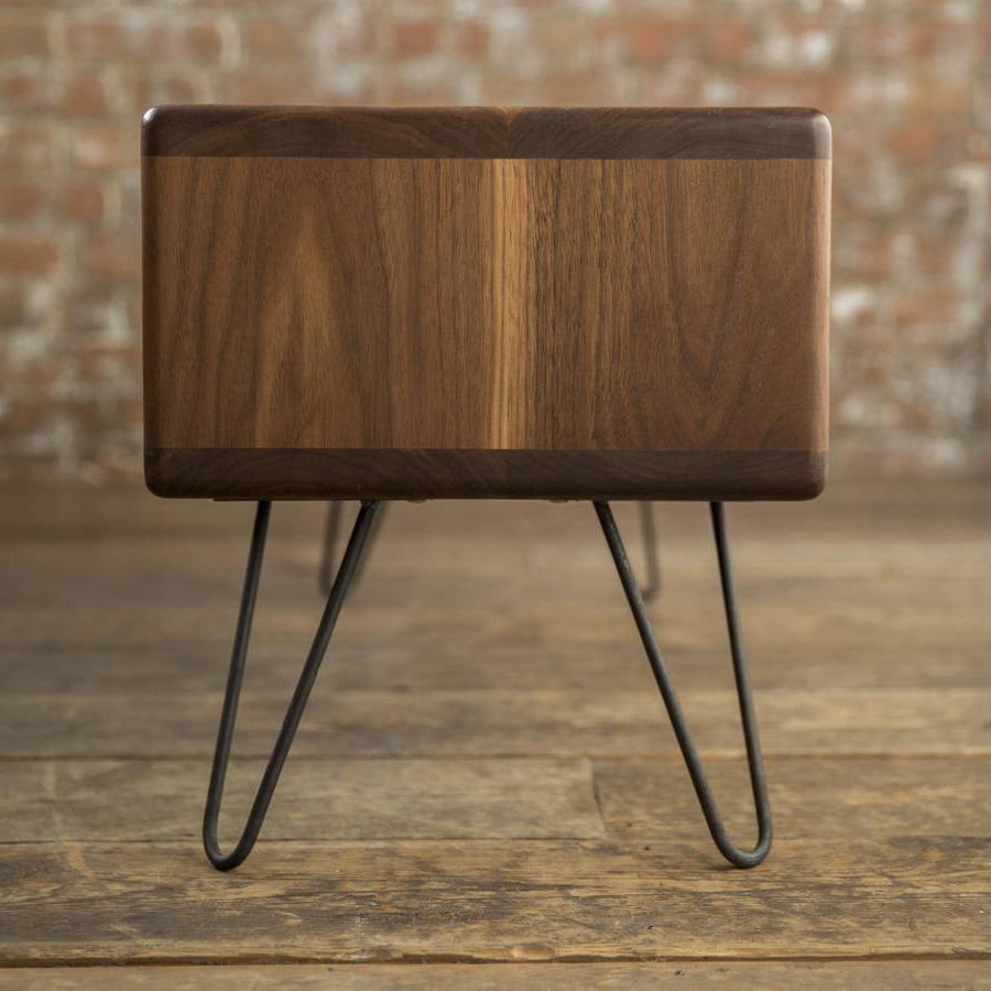 Modern Walnut Tv Stands Throughout Preferred Walnut Midcentury Modern Hairpin Leg Tv Standbiggs & Quail (View 20 of 20)