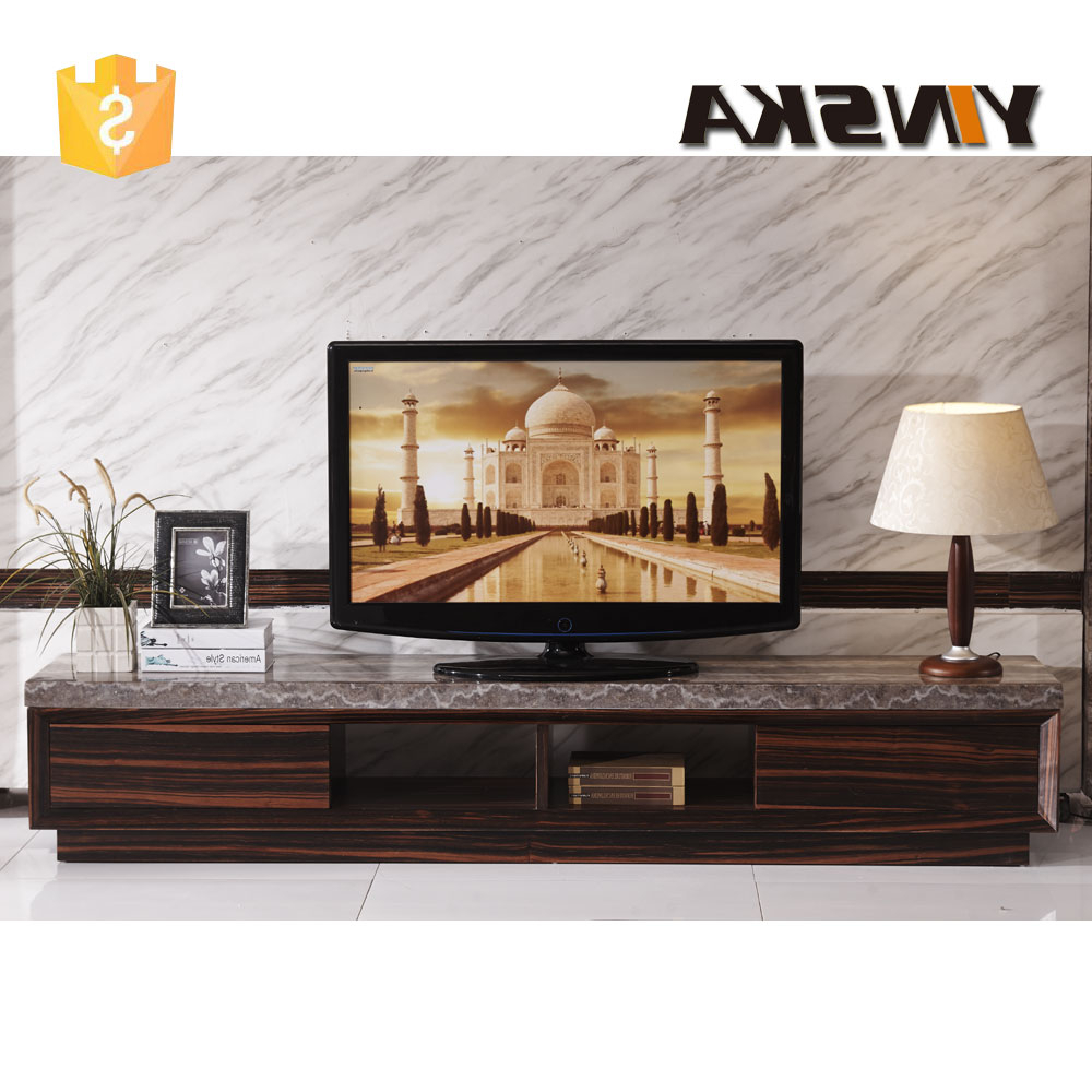 Modern Wooden Tv Stands Throughout Trendy Economical Italian Design Lcd Plasma Marble Top Tv Stand, Modern (View 10 of 20)