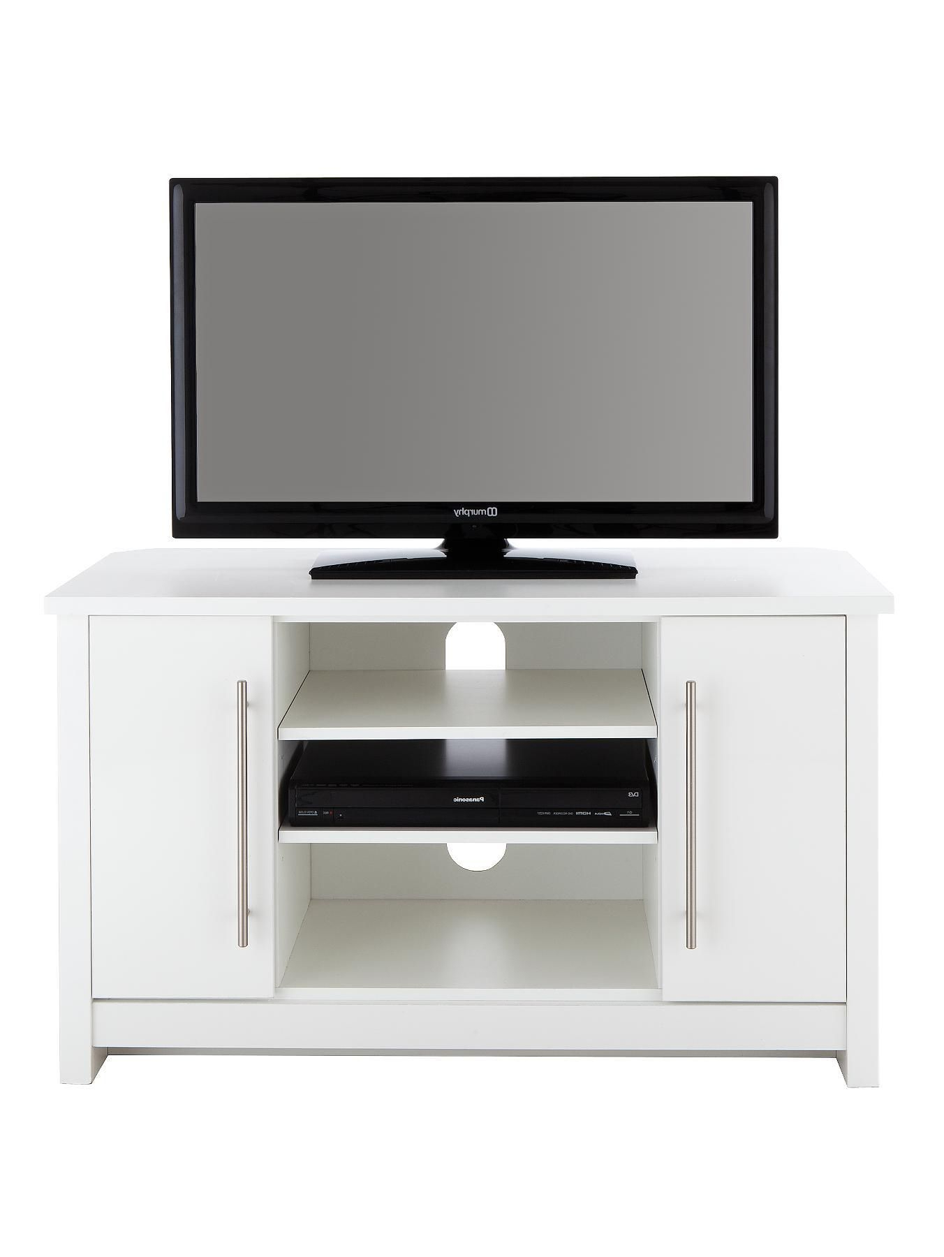 Mono Ready Assembled Corner Tv Unit – Fits Up To 43 Inch Tv (View 11 of 20)