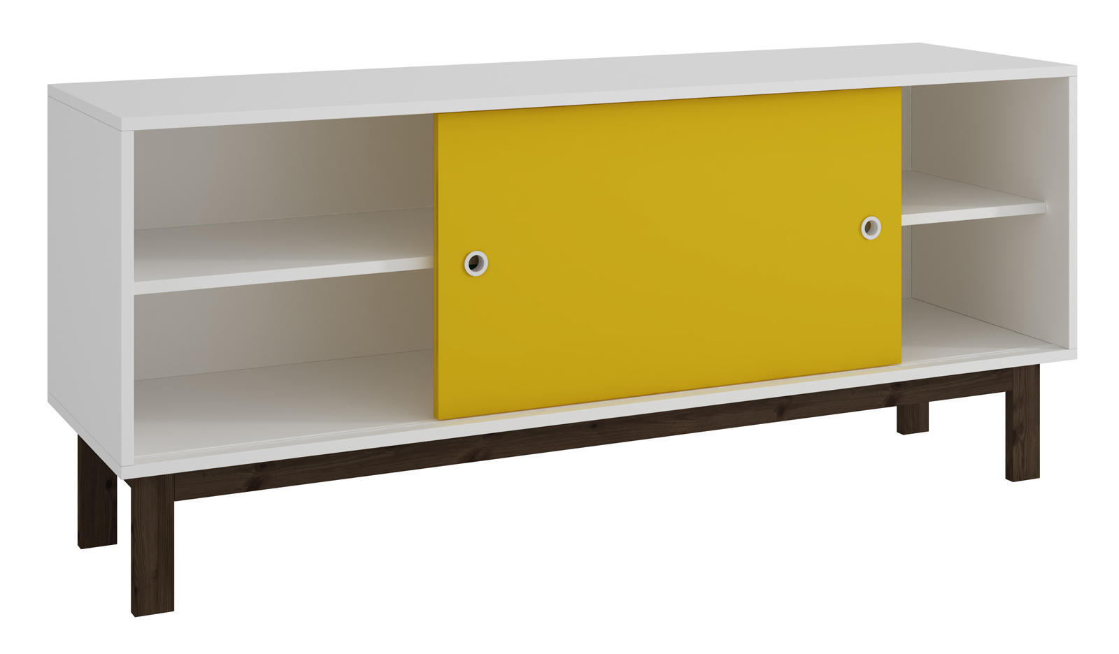 Most Current Accentuationsmanhattan Comfort Solna Tv Stand In White And Intended For Yellow Tv Stands (View 8 of 20)