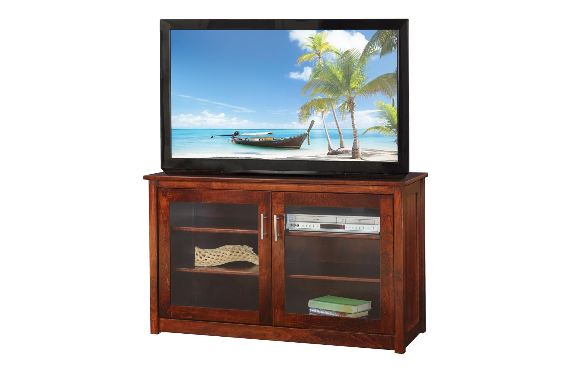 Most Current Amish Fireplace Insert Solid Wood Corner Tv Stands Flat Screens Within Solid Wood Corner Tv Cabinets (View 9 of 20)