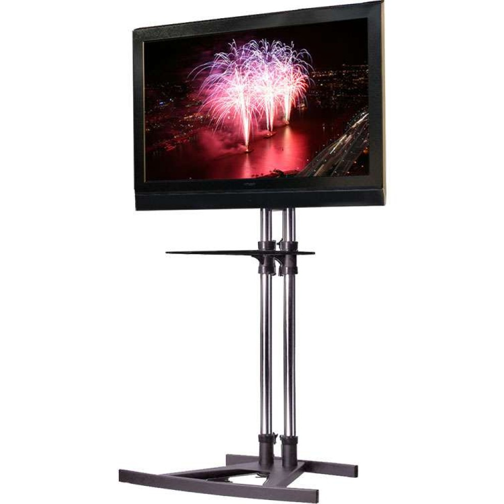 Most Current Exhibition Tv Stands & Commercial Trolleys In Plasma Tv Holders (View 8 of 20)