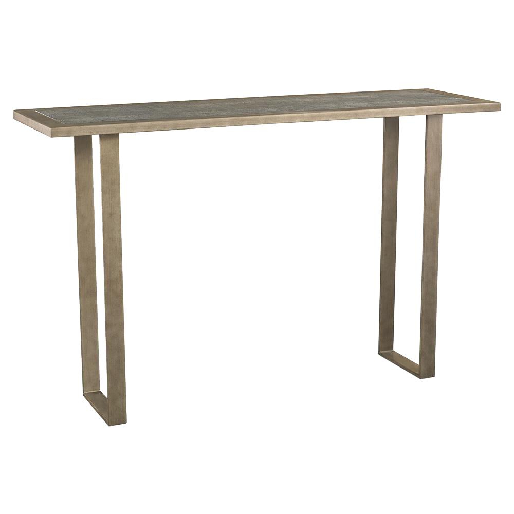Most Current Faux Shagreen Console Tables Pertaining To Mr. Brown Rochelle Modern Vintage Espresso Faux Shagreen Console Table (Gallery 9 of 20)