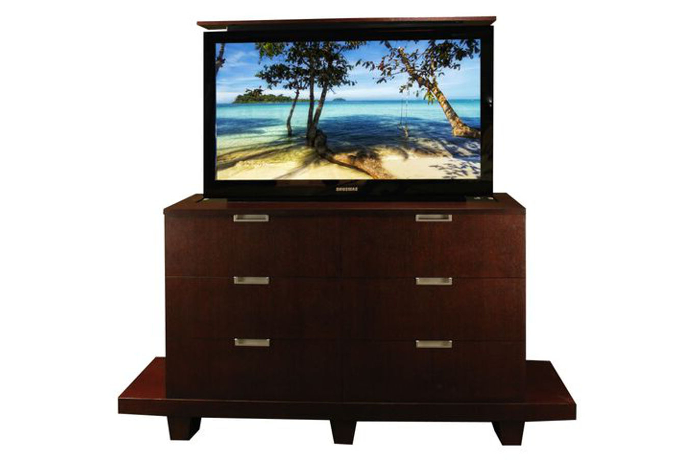 Most Current Floating Tv Cabinets With Modern American Made Tv Lift Cabinet (View 20 of 20)