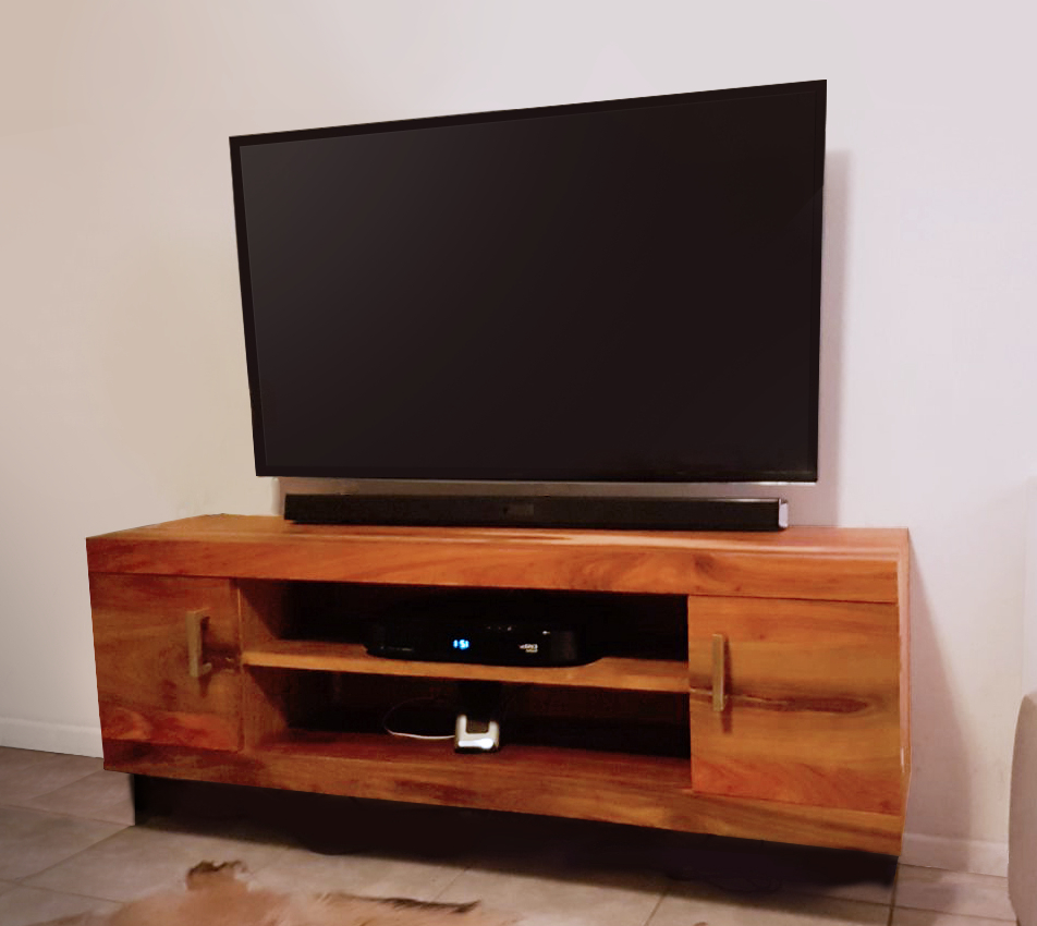 Most Current Floating (wall Mount) Tv Cabinet Plans And Build Tutorial – Fast With Regard To Floating Tv Cabinets (View 13 of 20)