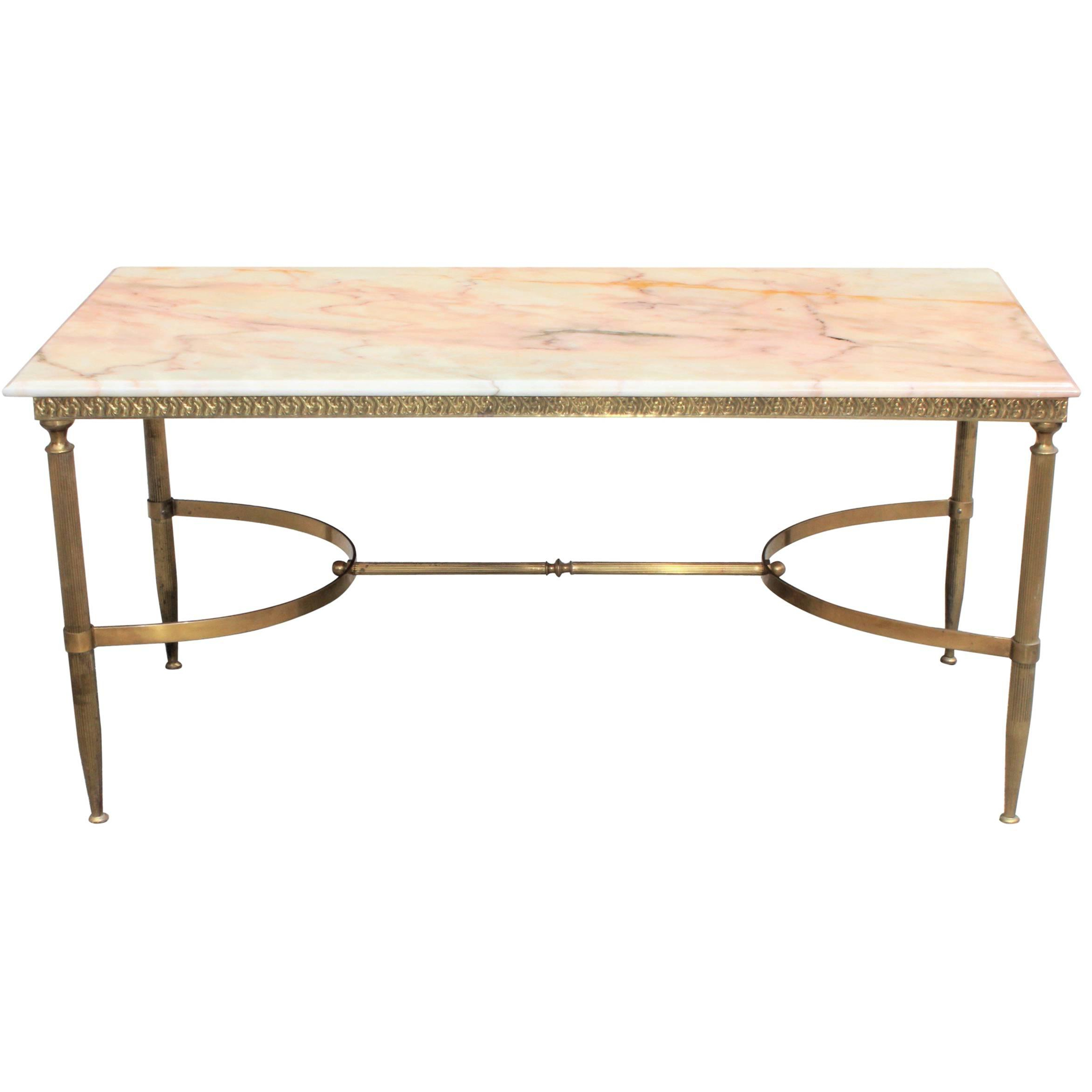 Most Current Mix Leather Imprint Metal Frame Console Tables Pertaining To Maison Jansen Side Tables – 65 For Sale At 1Stdibs (Gallery 14 of 20)