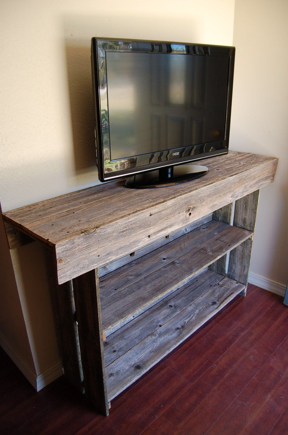 Most Current Recycled Wood Tv Stands In Best Pallet Projects In  (View 4 of 20)