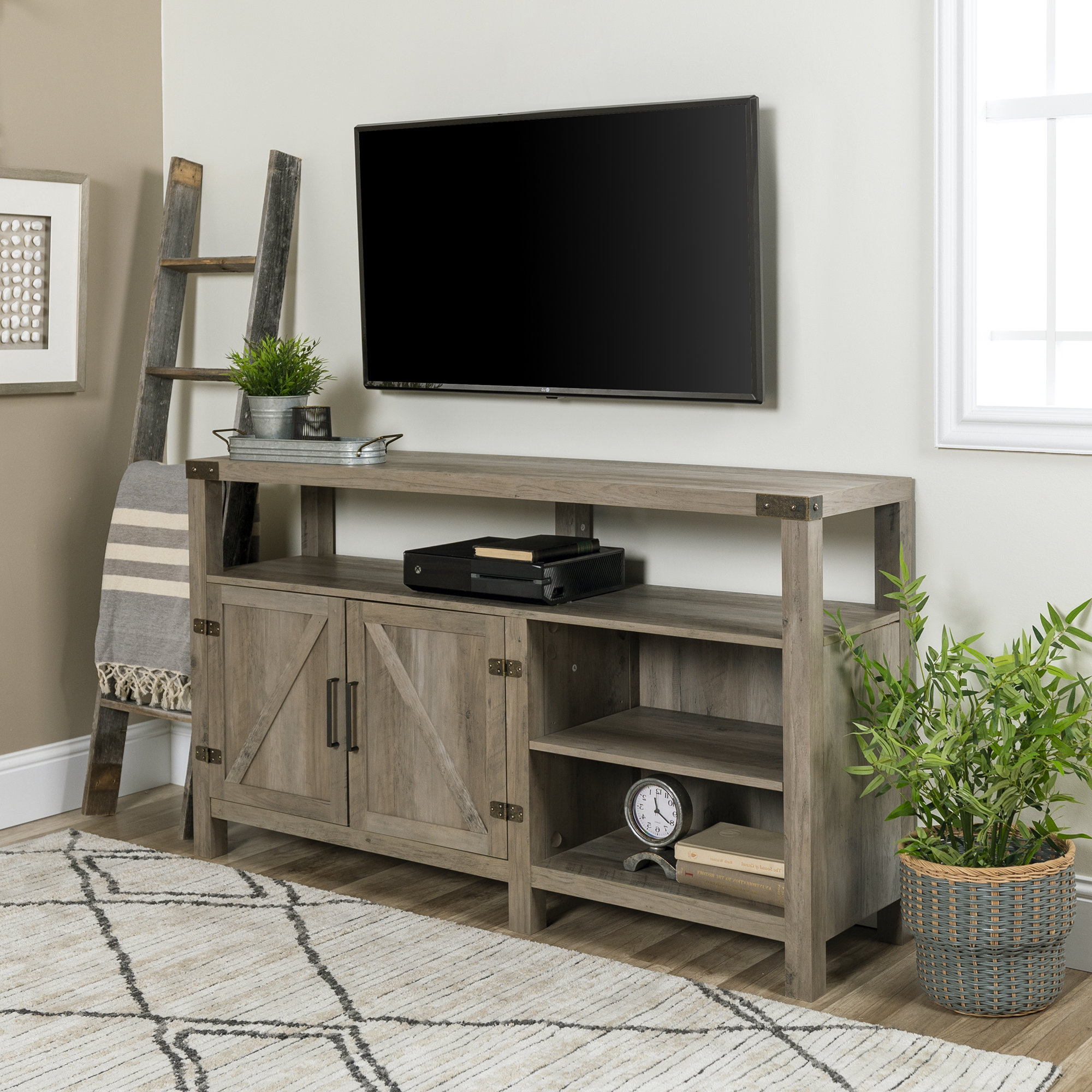 Most Current Sinclair Grey 54 Inch Tv Stands Regarding Tv Stands & Entertainment Centers You'll Love (View 10 of 20)