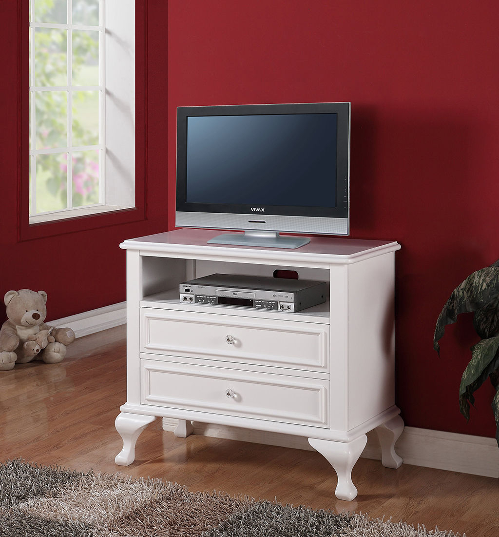 Most Current Small White Tv Stand With Drawers For Bedroom Of Stylish Designs Of Inside Small White Tv Stands (View 5 of 20)