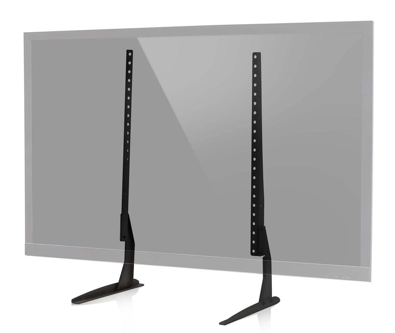 Most Current Tabletop Tv Stands Intended For Amazon: Mount It! Universal Tv Stand Base Replacement, Table Top (Gallery 2 of 20)