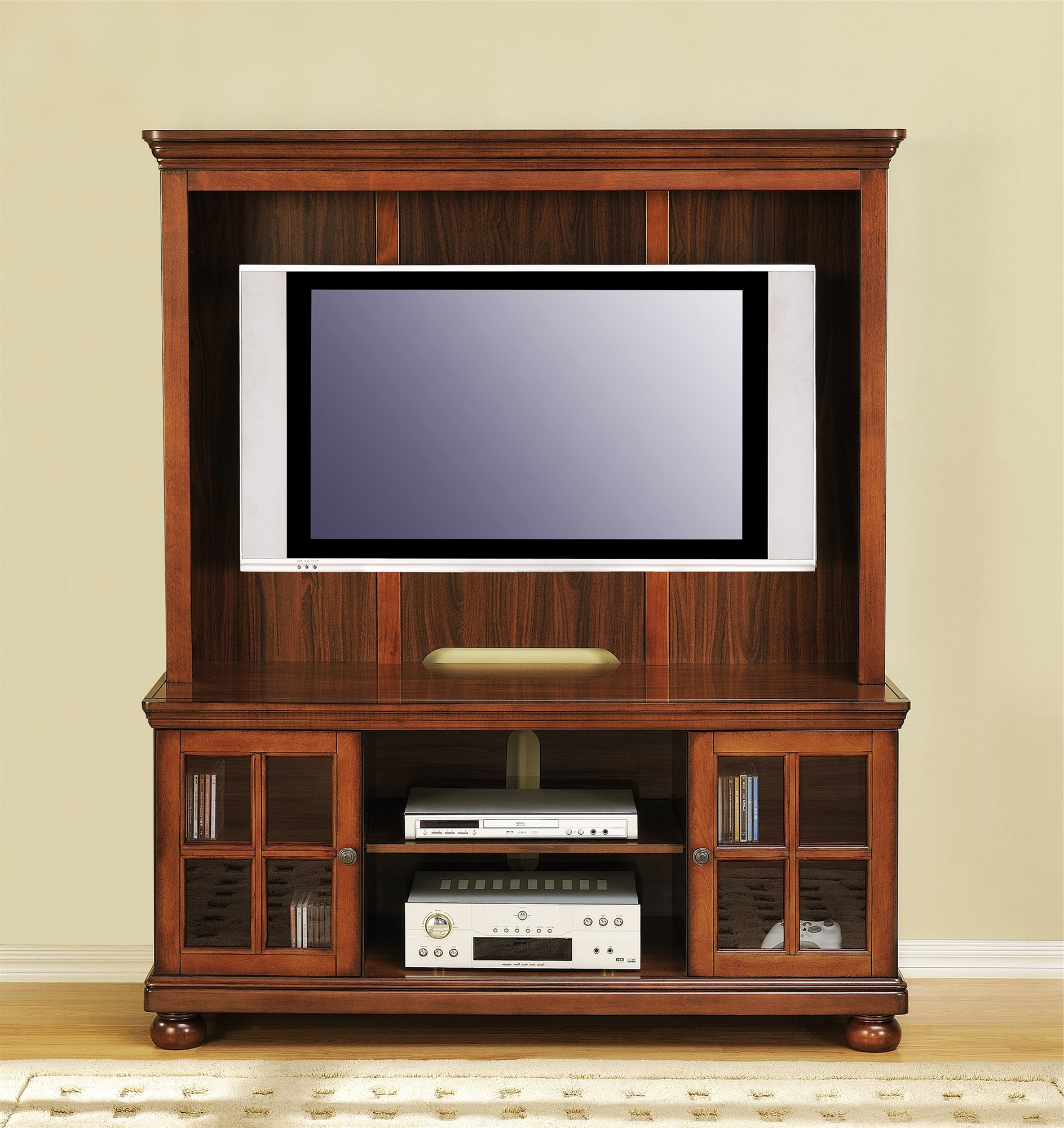 Most Current Tv Stand Design Ideas Costco Stands For Flat Screens Home Furniture Throughout Enclosed Tv Cabinets For Flat Screens With Doors (View 8 of 20)