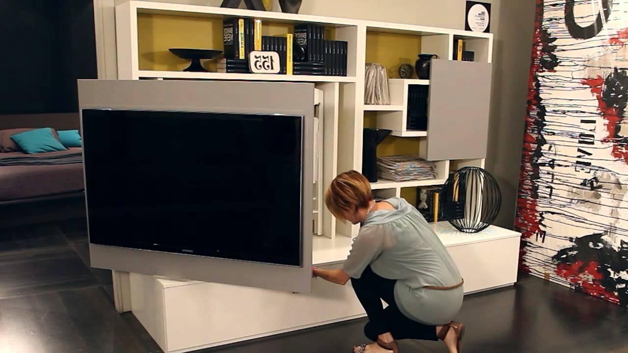 Most Current Tv Stand Wall Units Throughout Smart Livingozzio Design – Parete Attrezzata, Mobile Porta Tv (Gallery 15 of 20)