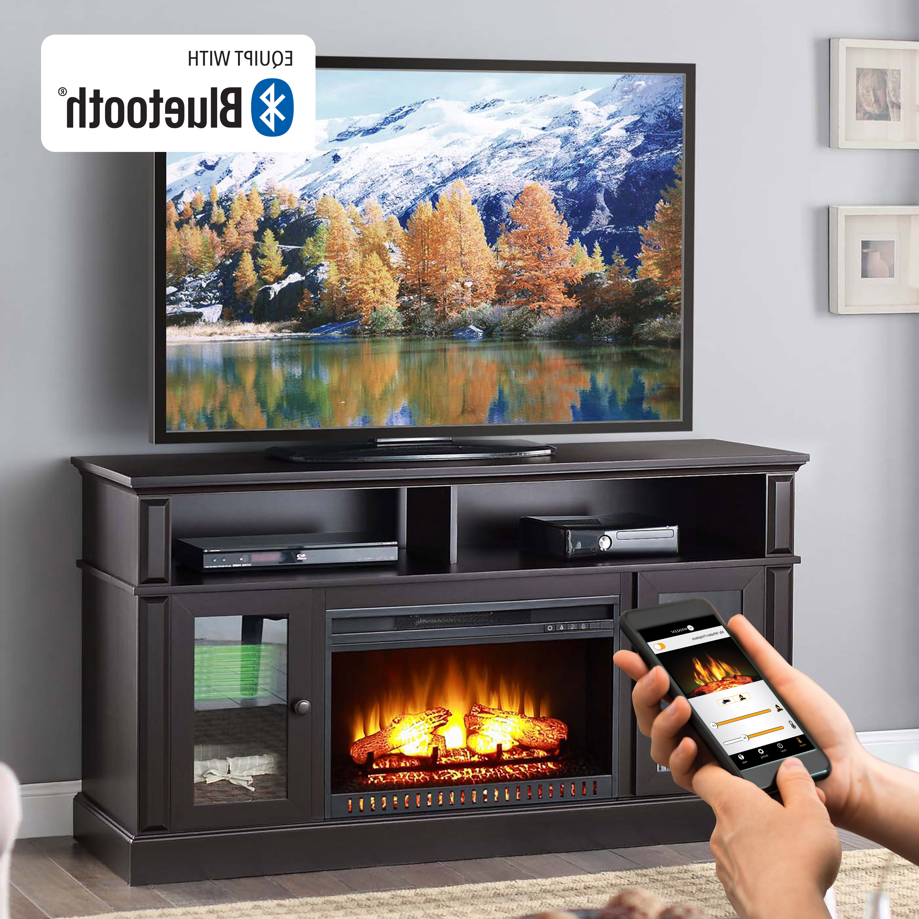 Most Current Tv Stands & Entertainment Centers – Walmart Within Tv Stands With Storage Baskets (View 8 of 20)