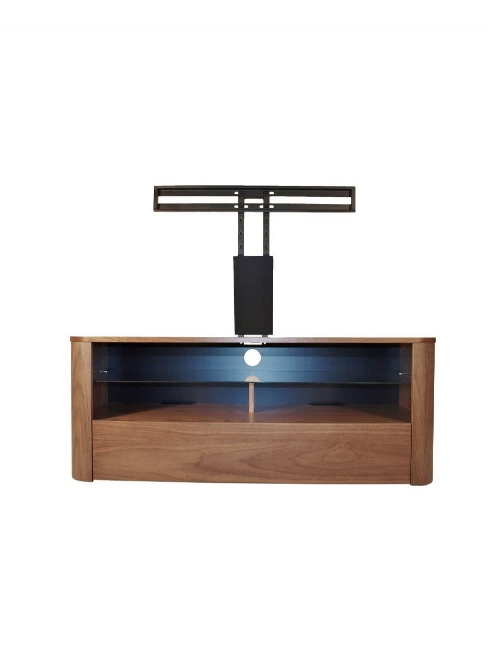 Most Popular Alphason Tv Cabinets In Alphason Hugo Tv Stand Adh1260 Wal Walnut With Bracket (View 16 of 20)