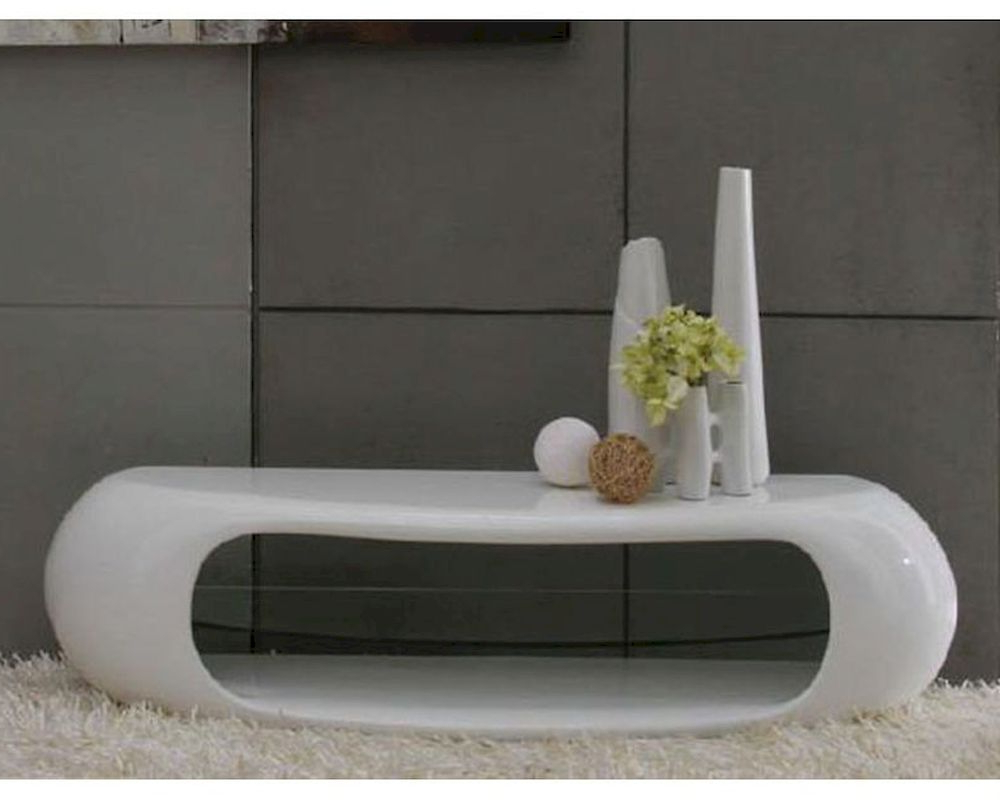 Most Popular Contemporary White High Gloss Tv Stand 44Ent1162 With White Gloss Oval Tv Stands (View 8 of 20)