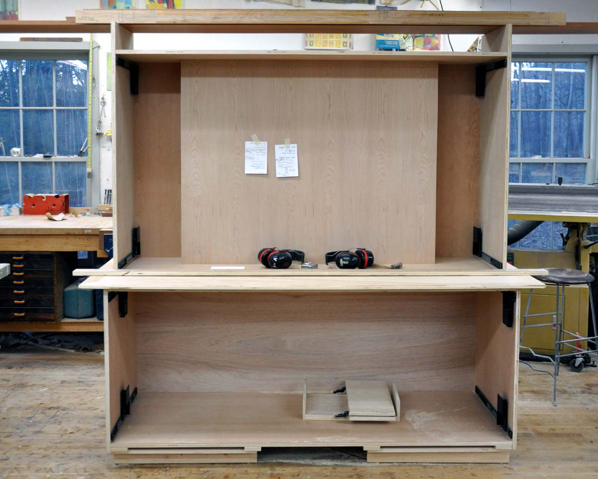 Most Popular Dorset Custom Furniture – A Woodworkers Photo Journal: The Big Tv With Big Tv Cabinets (View 9 of 20)