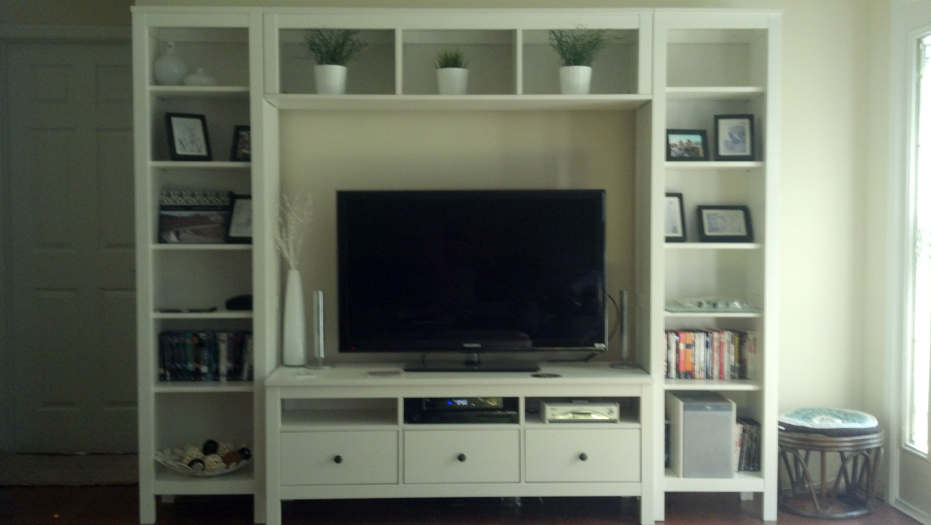 Most Popular Dresser And Tv Stands Combination Inside Furniture: Display Space For Audio Components And Collectibles With (View 15 of 20)