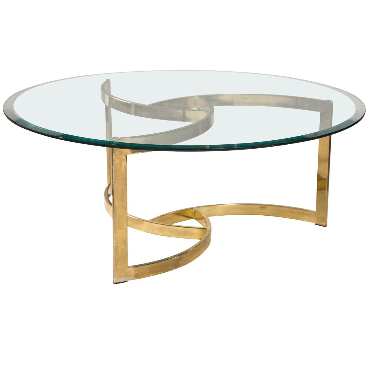 Most Popular Elke Glass Console Tables With Brass Base With Glass Coffee Table Gold Legs (Gallery 4 of 20)