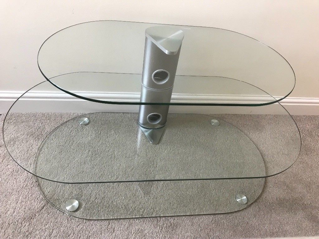 Most Popular Glass Tv Stand, Floating Shelves – John Lewis – Suitable For Tv's Up For Floating Glass Tv Stands (View 15 of 20)