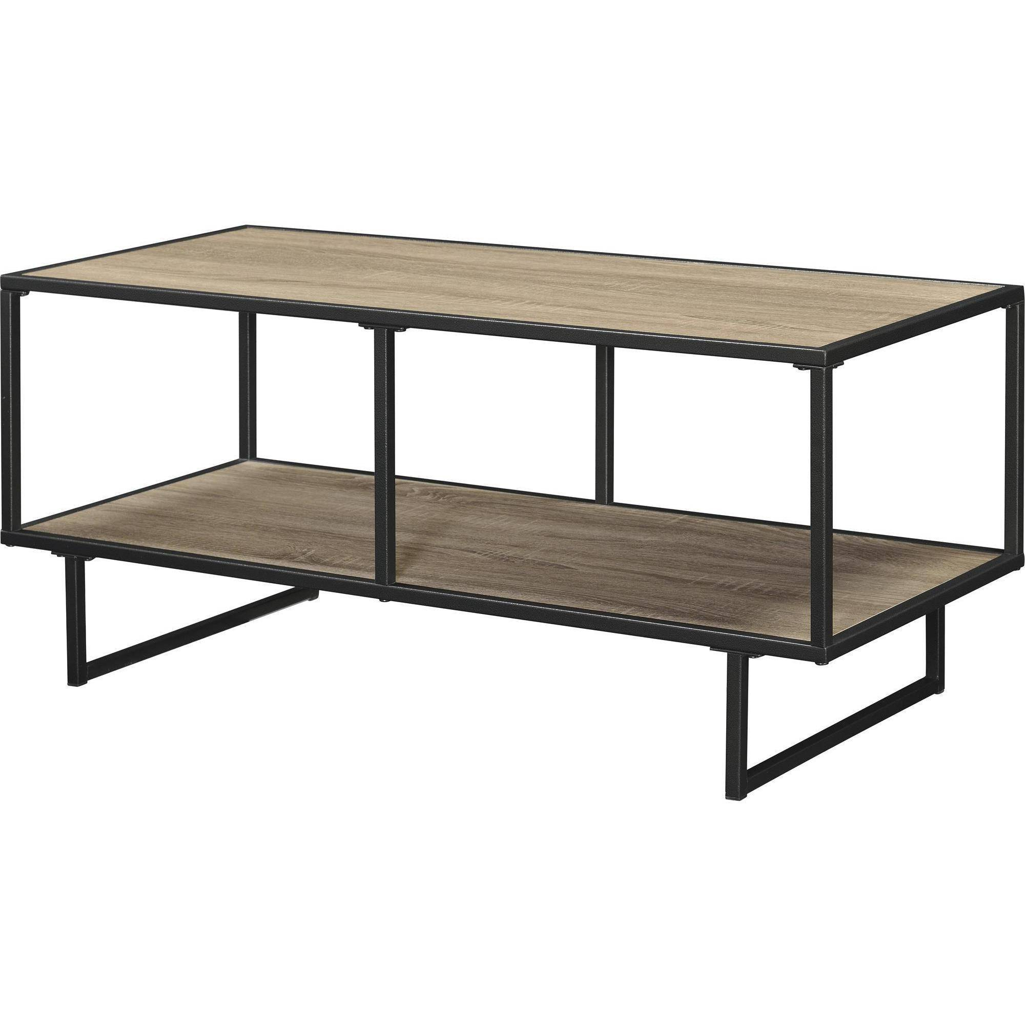 Most Popular Metal And Wood Tv Stands For Ameriwood Home Emmett Tv Stand/coffee Table – Walmart (View 15 of 20)