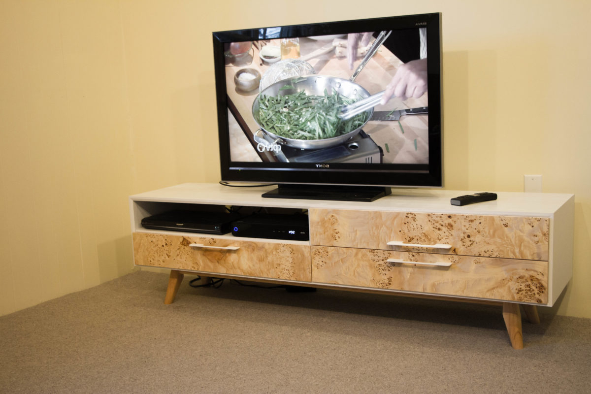 Most Popular Modern Modular Wall Units Acrylic Media Console Rustic Red Tv Stand Regarding Red Modern Tv Stands (View 8 of 20)