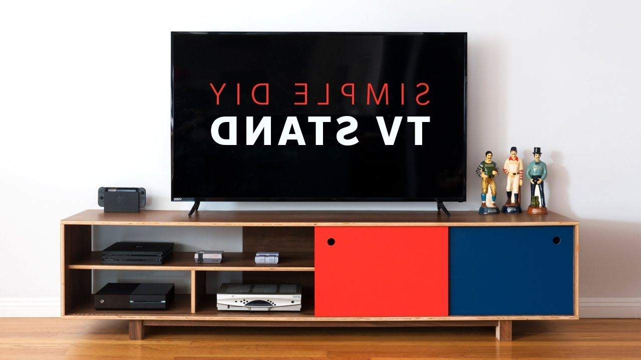 Most Popular Modern Tv Cabinets For Flat Screens In How To Make A Diy Mid Century Modern Tv Stand (View 13 of 20)