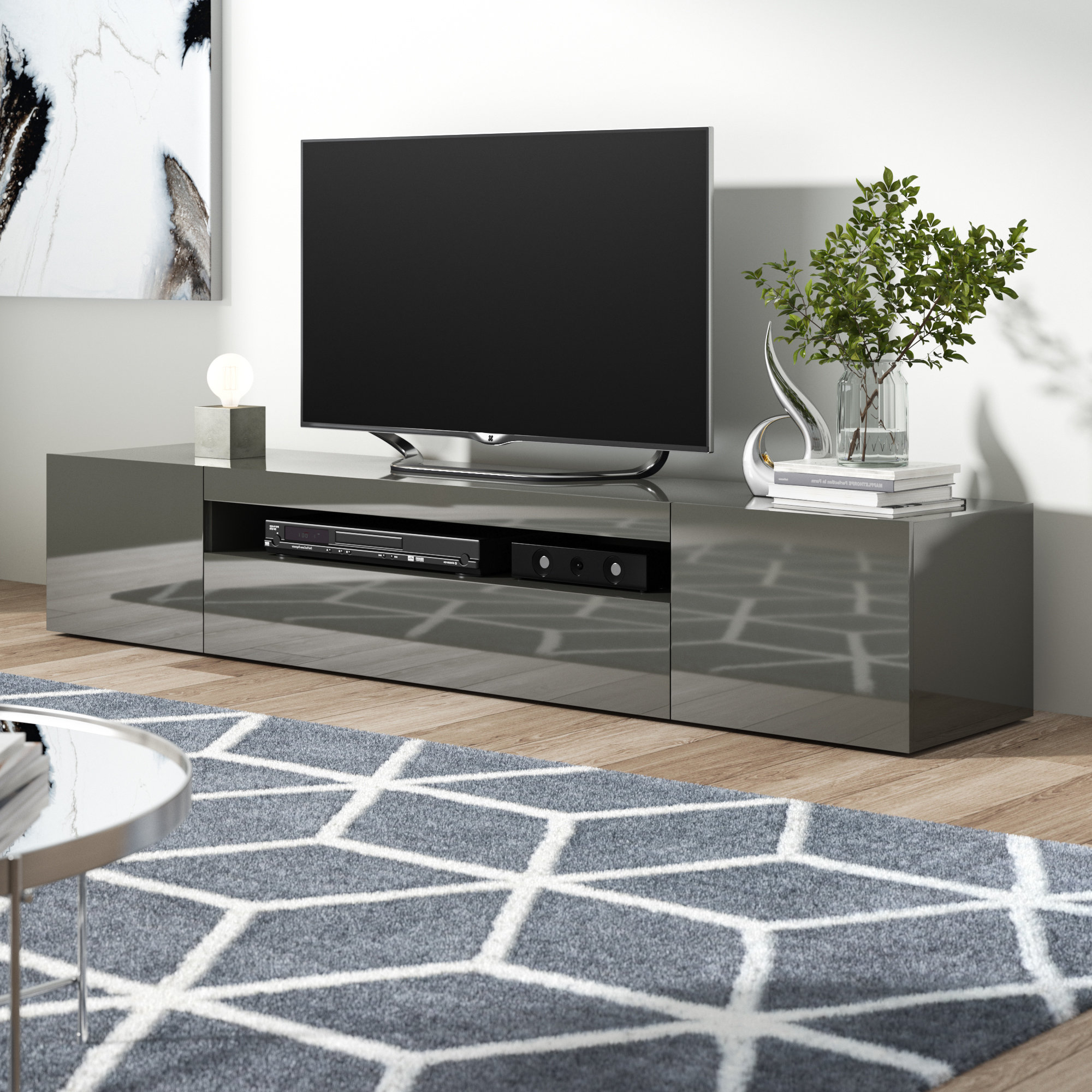 Most Popular Modern Tv Stands You'll Love (View 9 of 20)