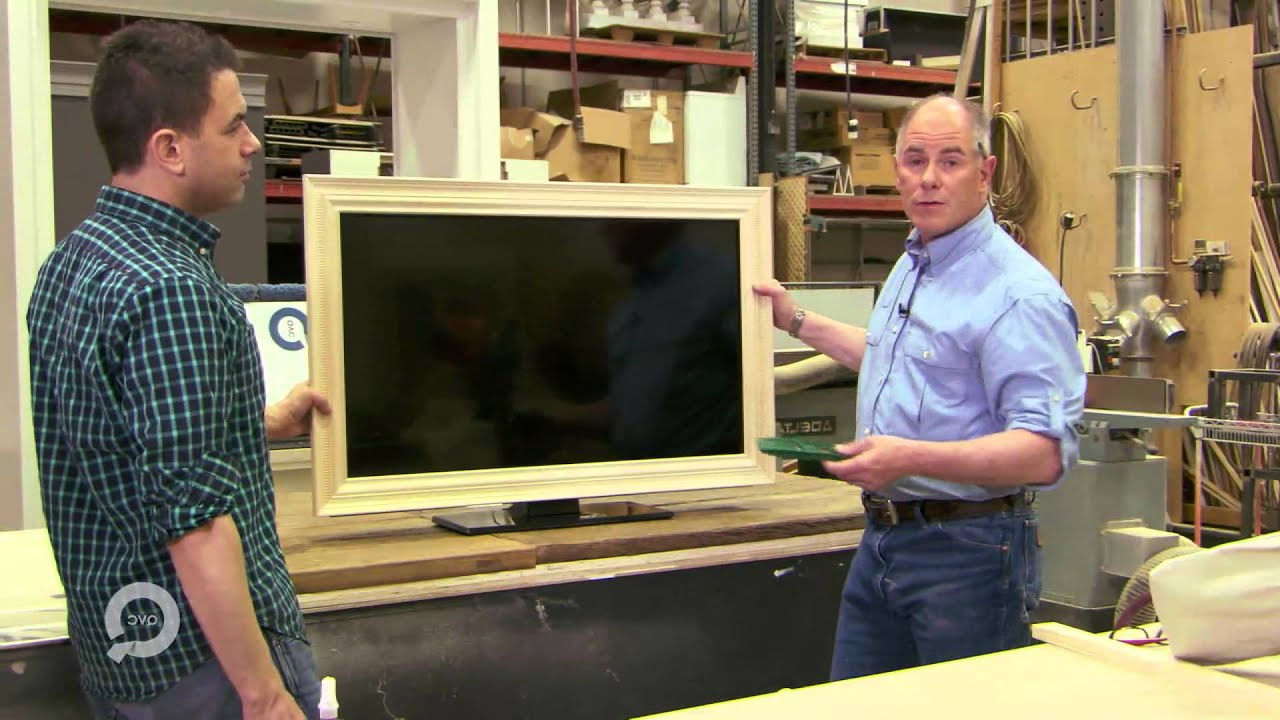Most Popular Plasma Tv Holders Inside How To Frame Your Flat Screen Tv – Youtube (Gallery 20 of 20)