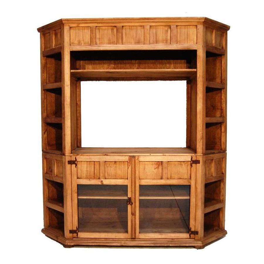 Most Popular Rustic Corner Tv Stands Regarding Million Dollar Rustic Rustic Corner Tv Stand At Lowes (View 3 of 20)