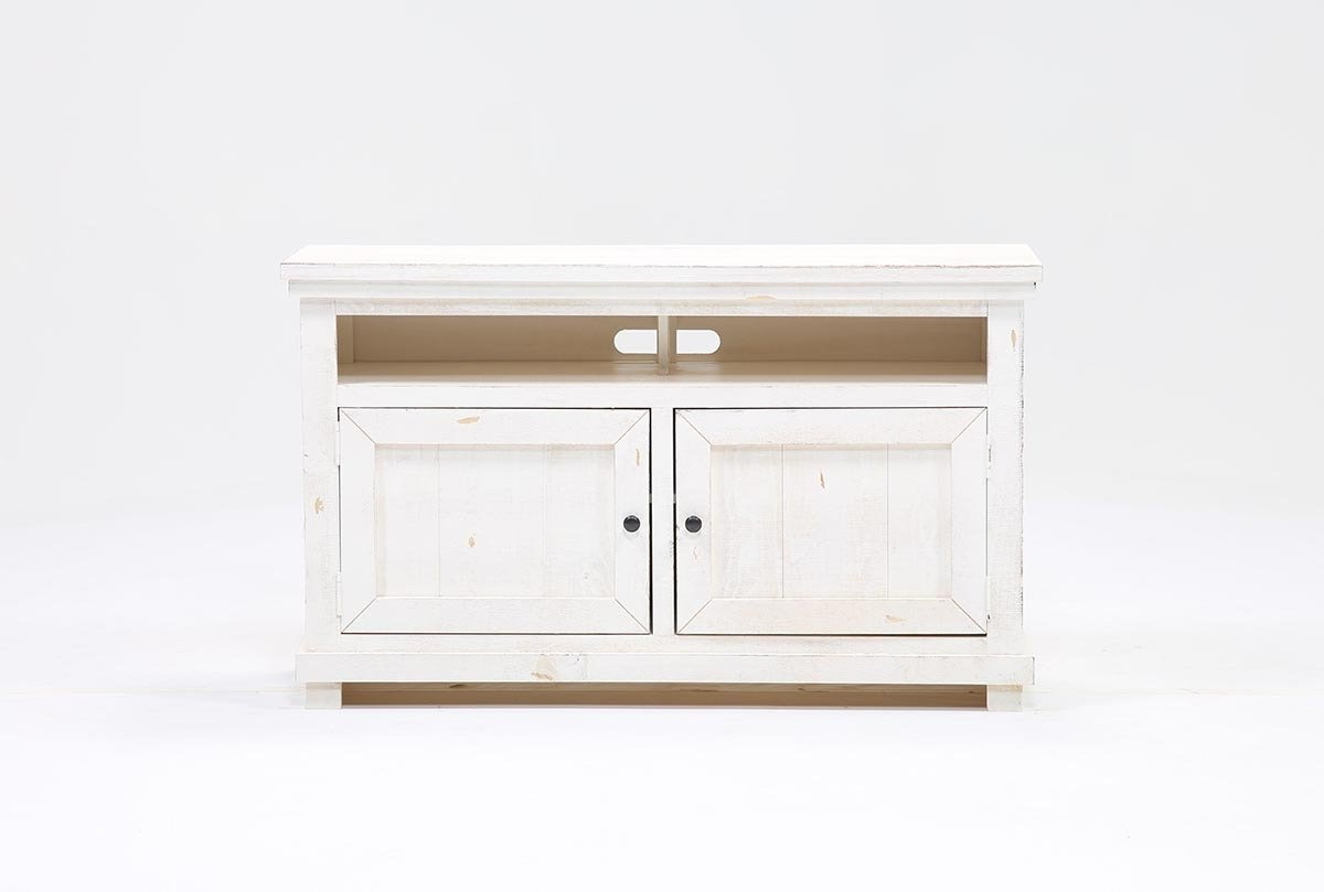 Most Popular Sinclair White 54 Inch Tv Stand (Gallery 2 of 20)