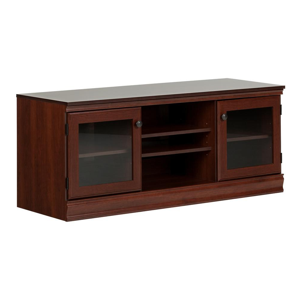 Most Popular South Shore Morgan Royal Cherry Tv Stand For Tvs Up To 75 In (View 15 of 20)